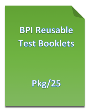 Picture of Basic Personality Inventory (BPI) Reusable Test Booklets
