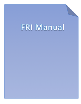 Picture of Family Relationship Inventory (FRI) Manual