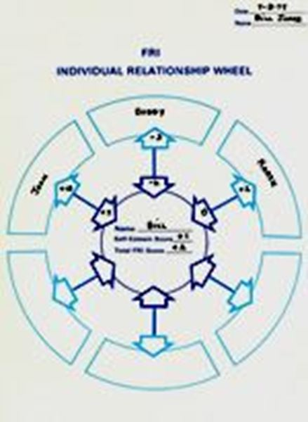 Picture of Family Relationship Inventory (FRI) Individual Relationship Wheels pkg./100
